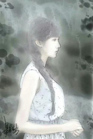 作品《盛开》作者:果酱女王-俞果