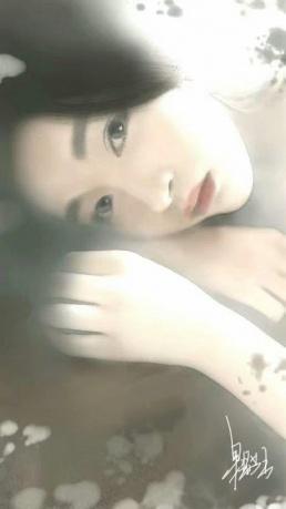 作品《邂逅》作者:果酱女王-俞果