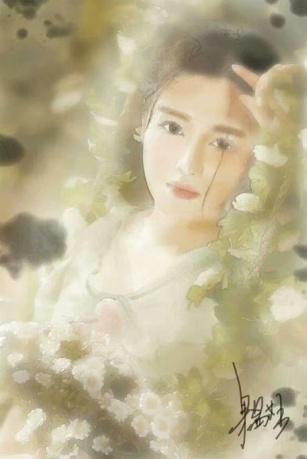 作品《飘逸》作者:果酱女王-俞果