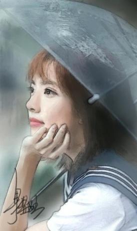 作品《虚幻》作者:果酱女王-俞果