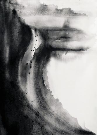 水彩《来自远方的挂念》作者:果酱女王-俞果 