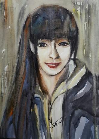 水彩《远方》作者:果酱女王-俞果