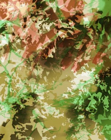 作品《绿色》 作者:果酱女王-俞果