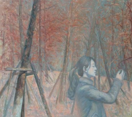 林中的女孩