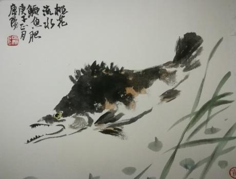 桃花流水鱖鱼肥