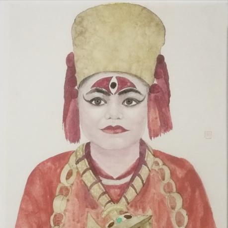 尼泊尔女神