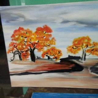 k手绘油画,k手绘油画的个人主页