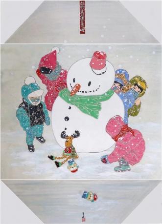 《暖暖的雪 欢乐的世界》