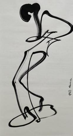 抽象人物画,物事人非系列
