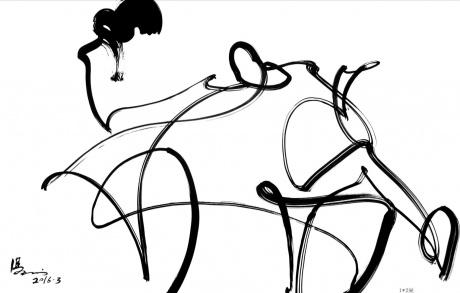 抽象画,物事人非系列