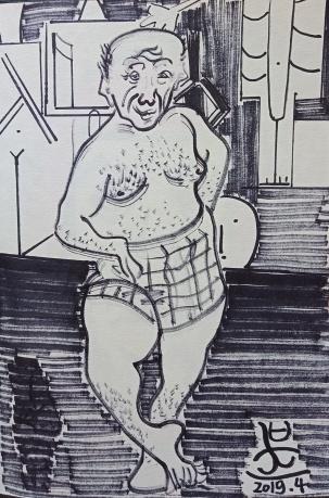 《致敬毕加索》